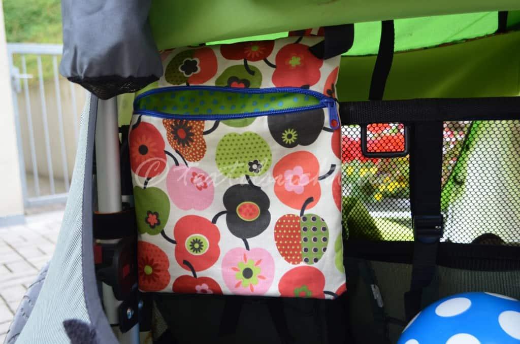Reißerschlusstasche für den Croozer Fahrradanhänger