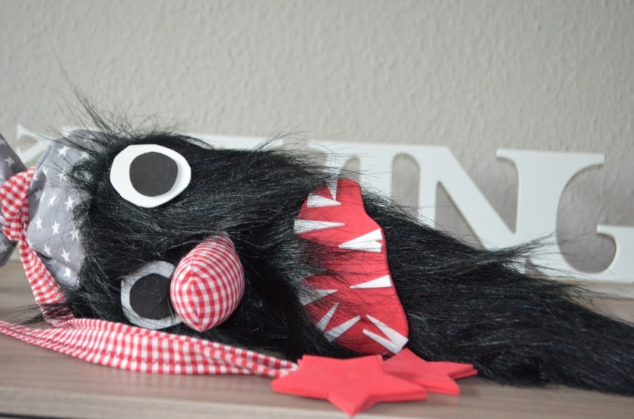 TUTORIAL: Monster Schultüte nähen - Bild 4 | textilsucht.de
