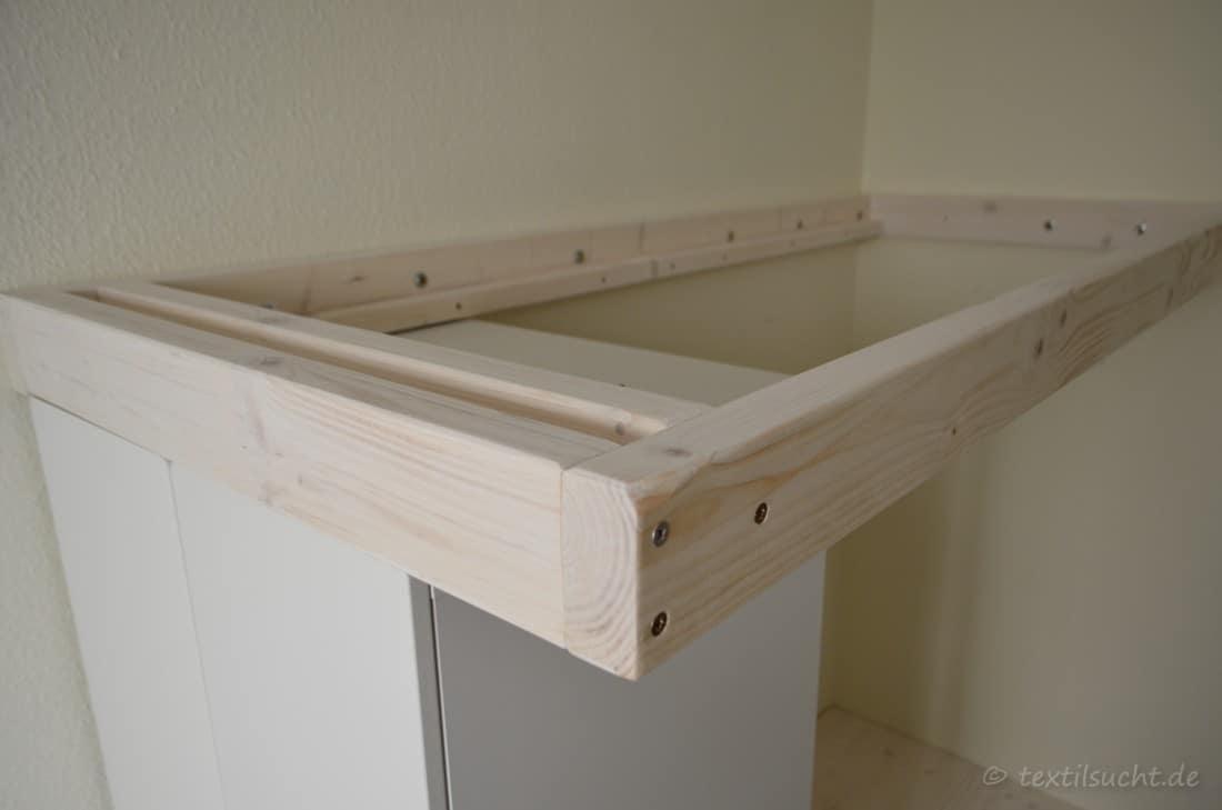 hochbett selber bauen bettrahmen verschraubung. Black Bedroom Furniture Sets. Home Design Ideas