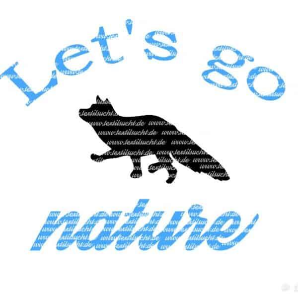 Let's go nature mit Wasserzeichen