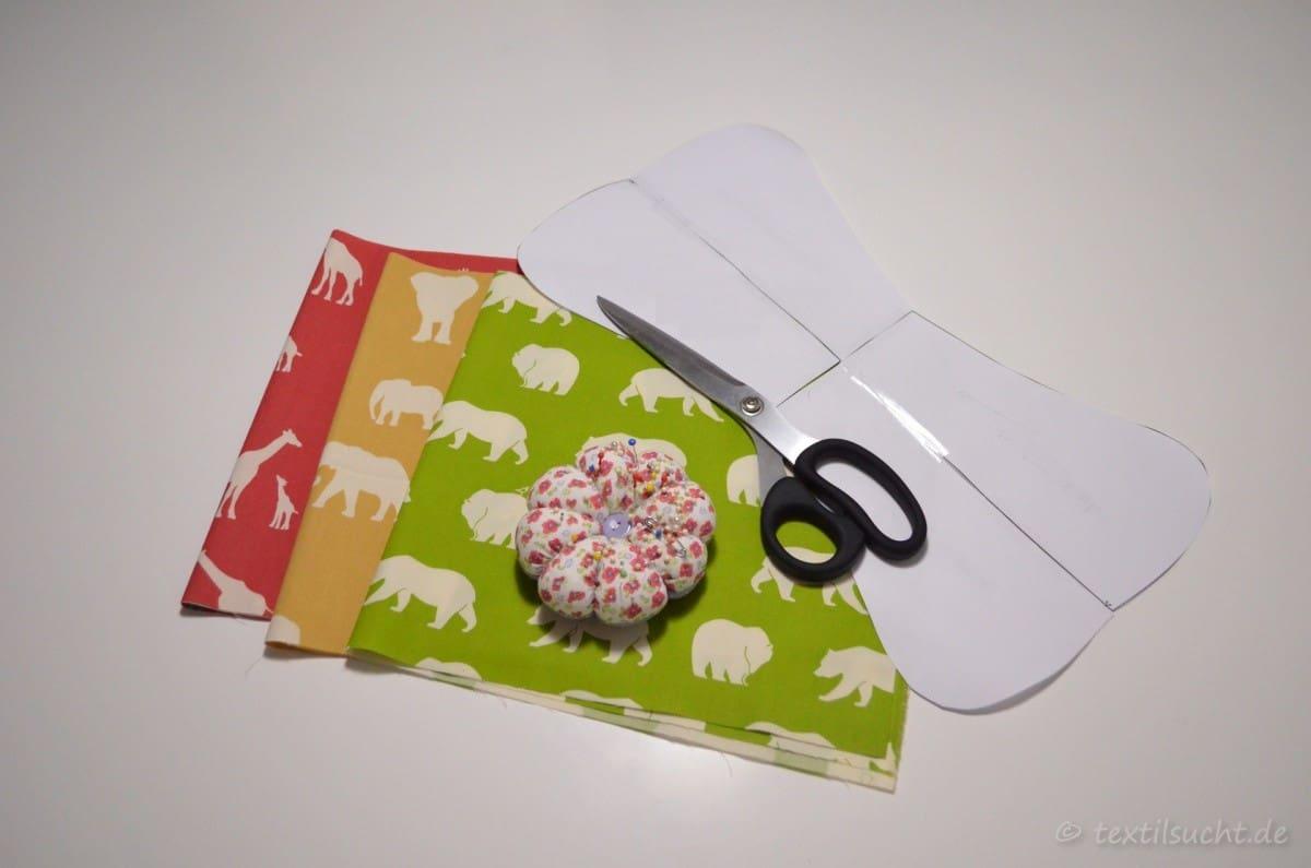 Tutorial & kostenloses Schnittmuster: Nackenkissen nähen » Textilsucht®