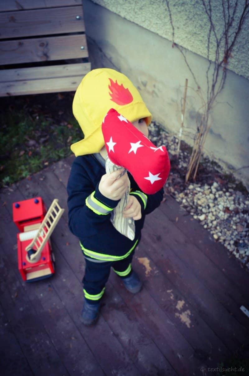 Faschingskostüm Feuerwehrmann