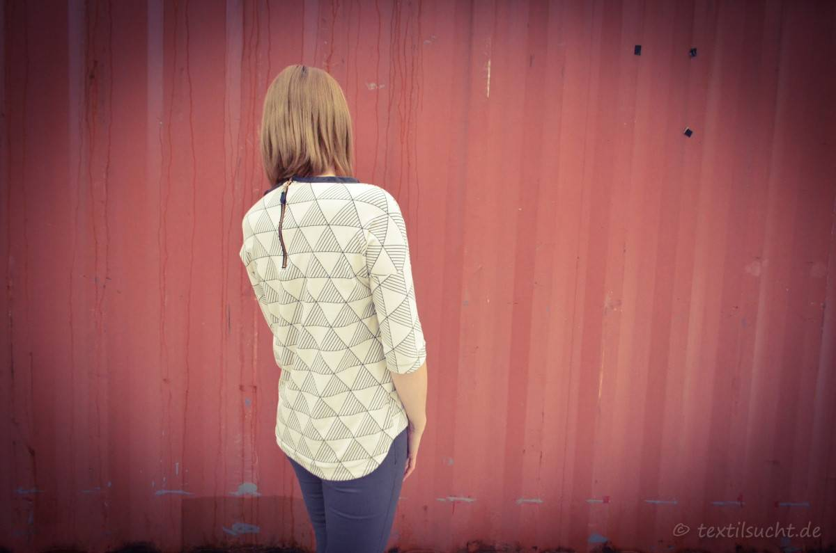 Schnittmuster Shirt Amylee - Oversizeshirt