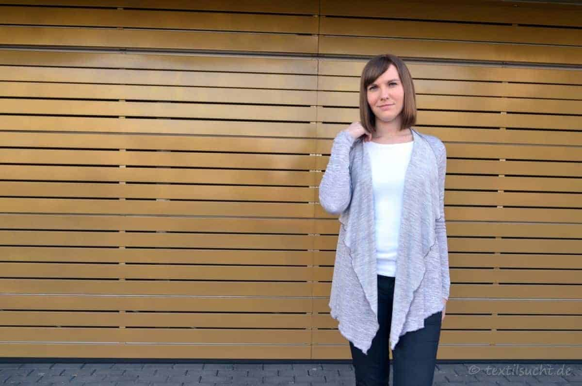 Schlicht und schick: Meine Alegra Strickjacke