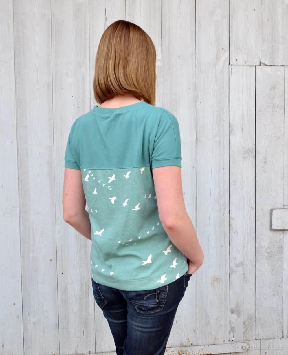 Schnittmuster Kurzarmschirt - Amylee von textilsucht