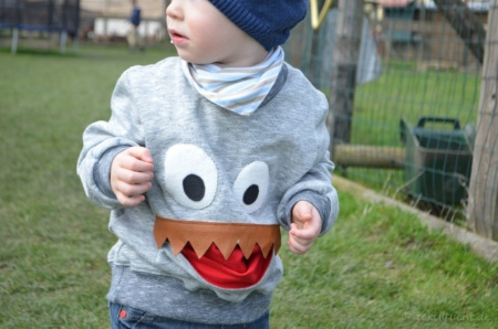 Schnittmuster Kindershirt: Das Waaahhh Monstershirt zum selber nähen