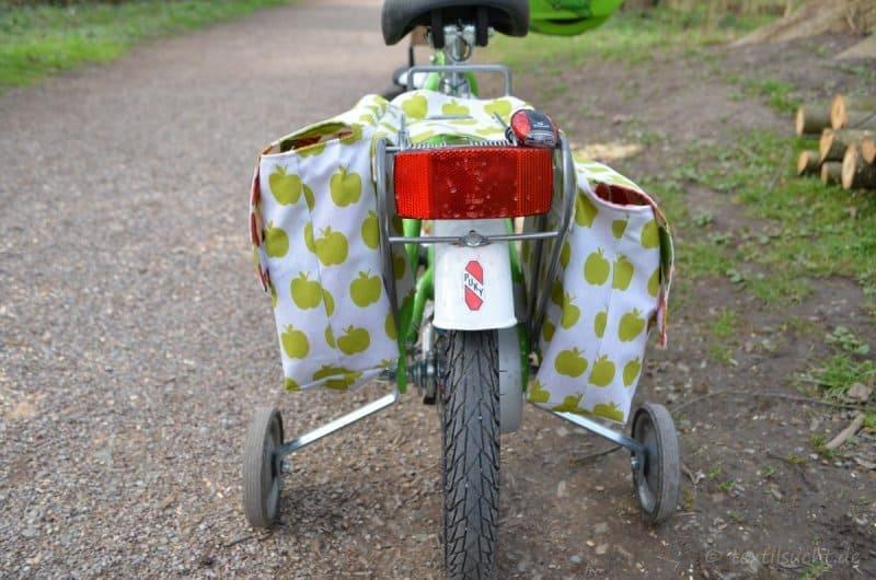 Fahrradtasche für den Gepäckträger nähen - Bild 2 | textilsucht.de
