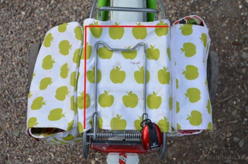 Fahrradtasche für den Gepäckträger nähen - Bild 3 | textilsucht.de