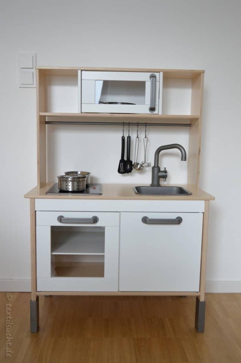 Ikea Duktig Küche in ein Einzelstück verwandeln | textilsucht