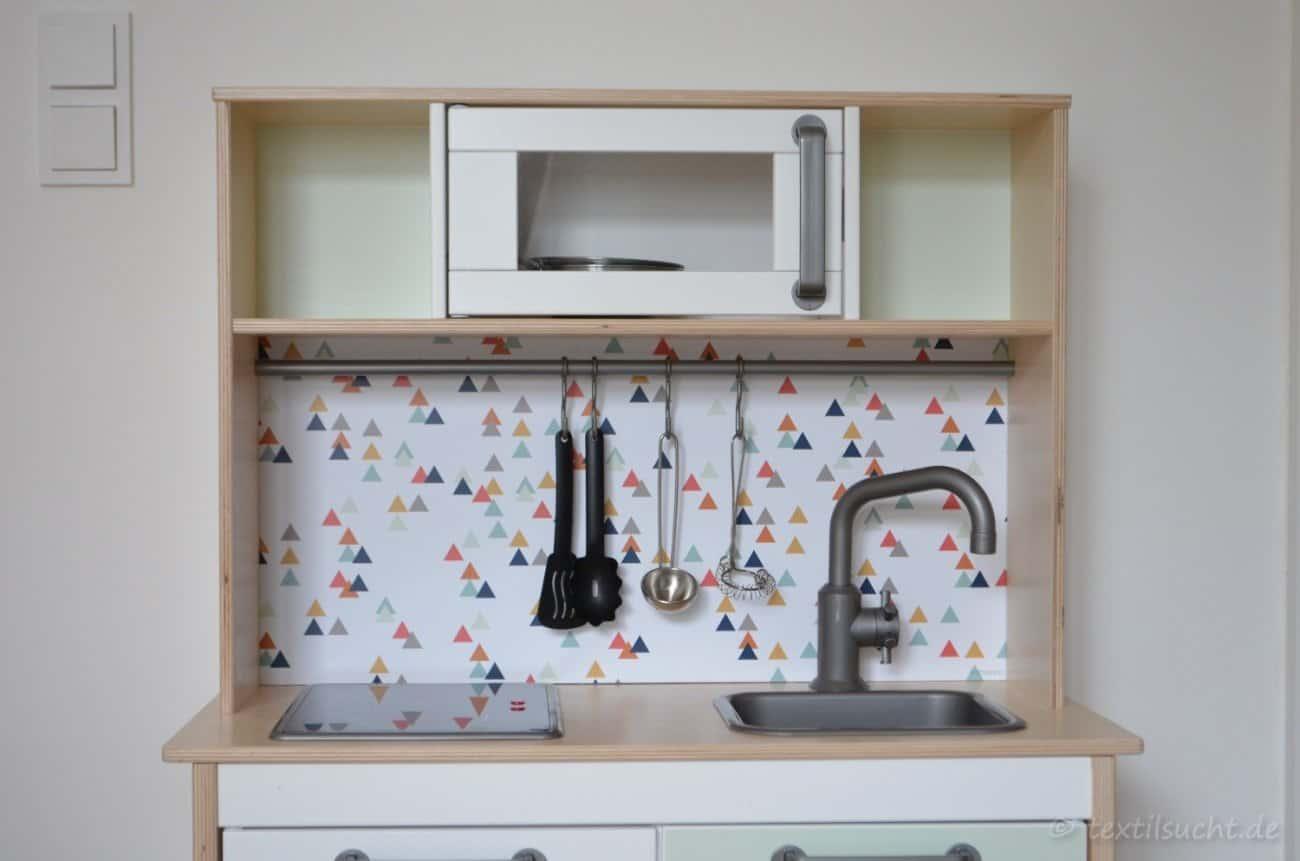 Ikea Duktig Kuche In Ein Einzelstuck Verwandeln Textilsucht