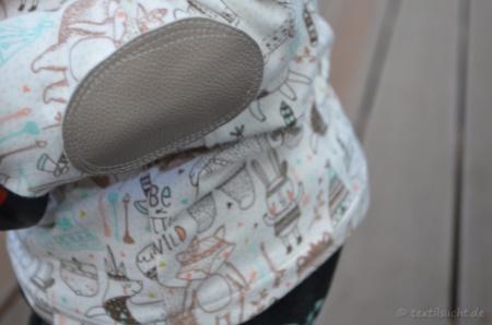 Be a little wild: Minioutfit aus Kragenshirt und Frankenpump - Titelbild | textilsucht