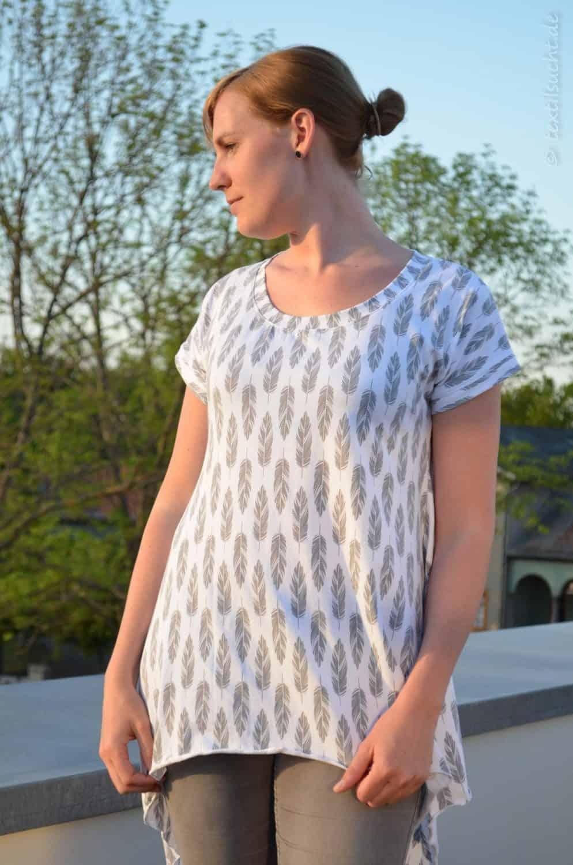 Shirt Schnittmuster Ebby aus Feder-Jersey von Staghorn Design - Bild 8 | textilsucht