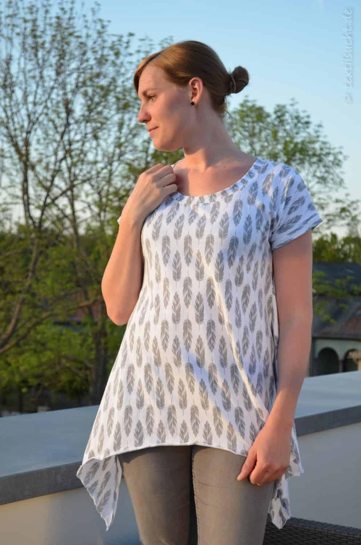Shirt Schnittmuster Ebby aus Feder-Jersey von Staghorn Design - Bild 9 | textilsucht