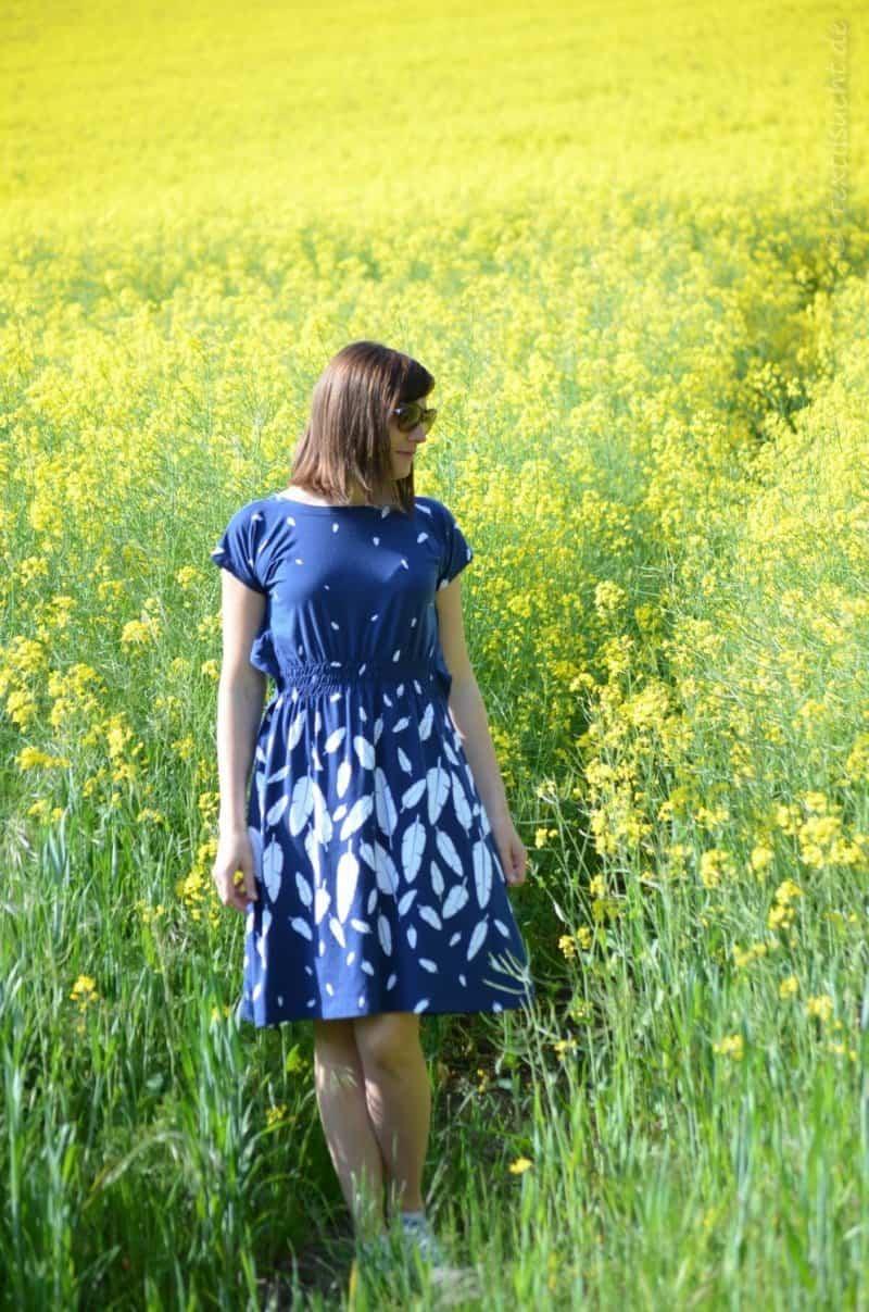 Schnittmuster Kleid Federleicht aus Volar von Lillestoff - Bild 1