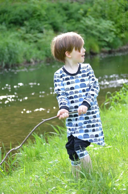 Kinderoutfit genäht von textilsucht: krumm & schief von Jojolino   Bild 1