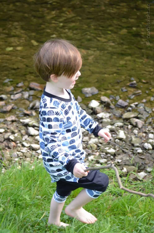 Kinderoutfit genäht von textilsucht: krumm & schief von Jojolino   Bild 2