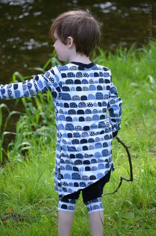 Kinderoutfit genäht von textilsucht: krumm & schief von Jojolino | Bild 3