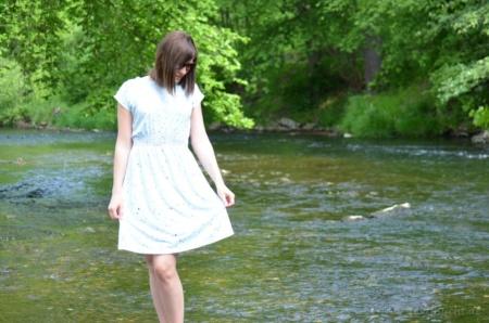 Ebook Kleid Federleicht