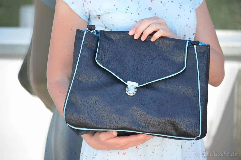 Meine neue Tasche Lea von DIY Labor - Titelbild | textilsucht