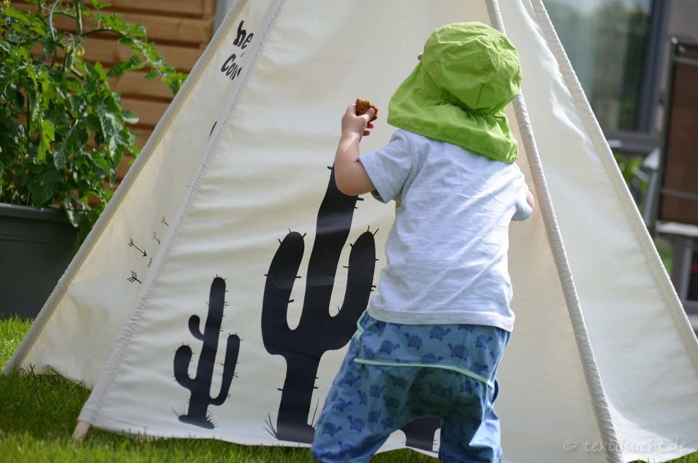 Kinderzimmer einrichten: Spielzelt selber nähen - Bild 8 | textilsucht.de
