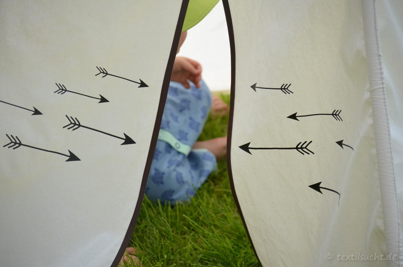 Kinderzimmer einrichten: Spielzelt selber nähen - Bild 7 | textilsucht.de