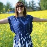 Mein neues Schnittmuster: Sommerkleid Federleicht mit Volant