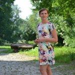 Schnittmuster Sommerkleid: Federleicht mit Bündchen