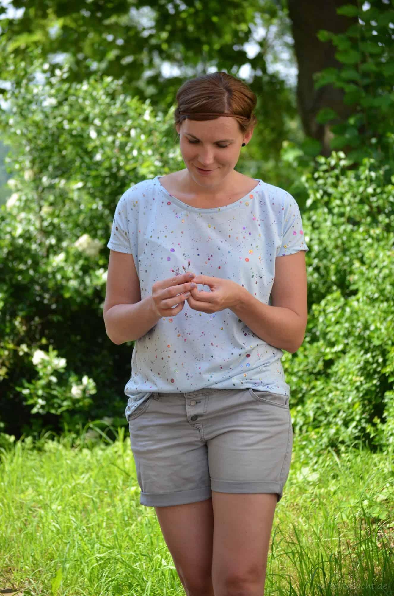 Schnittmuster Sommershirt Amylee von textilsucht - Bild 8