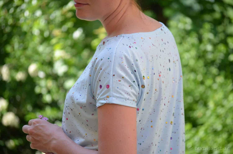 Schnittmuster Sommershirt Amylee von textilsucht - Titelbild
