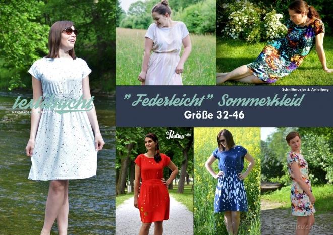 Schnittmuster Kleid Federleicht - Produktbild