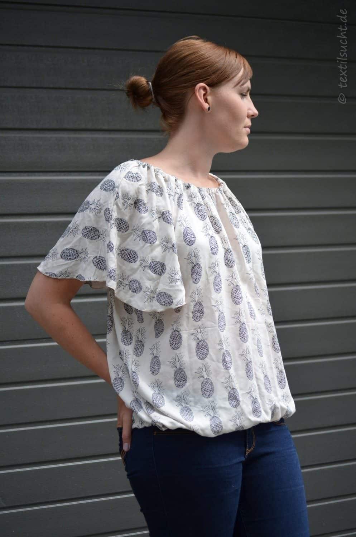 Shirt Schwerelos als normales oder Off-Shoulder Shirt | Bild 1