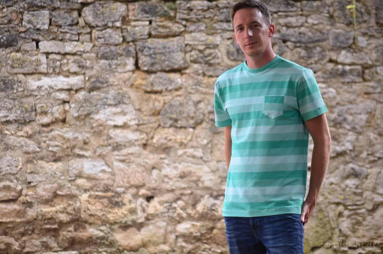 Nähen für Männer: Schnittmuster Herrenshirt Rio - Bild 2 | textilsucht.de