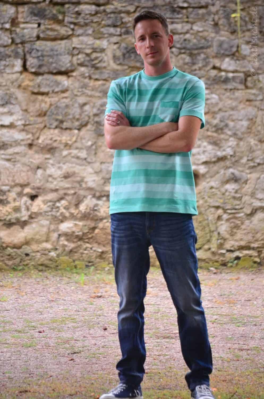 Nähen für Männer: Schnittmuster Herrenshirt Rio - Bild 1 | textilsucht.de