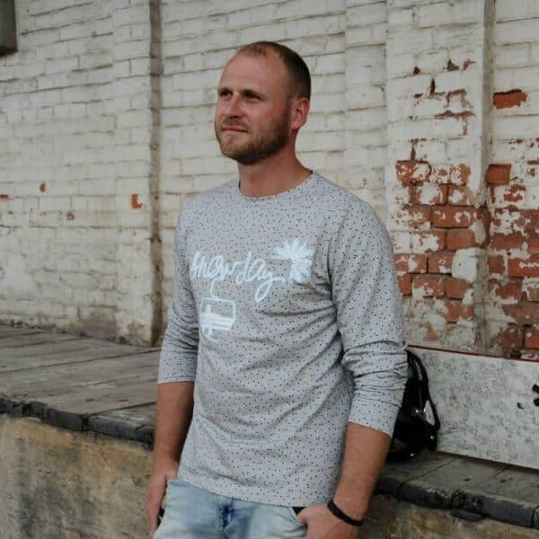 "Schnittmuster Shirt ""Rio"" für Männer - inkl. Nähanleitung"