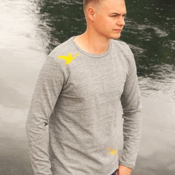 "Schnittmuster Shirt ""Rio"" für Männer - inkl. Nähanleitung - Bild 4"