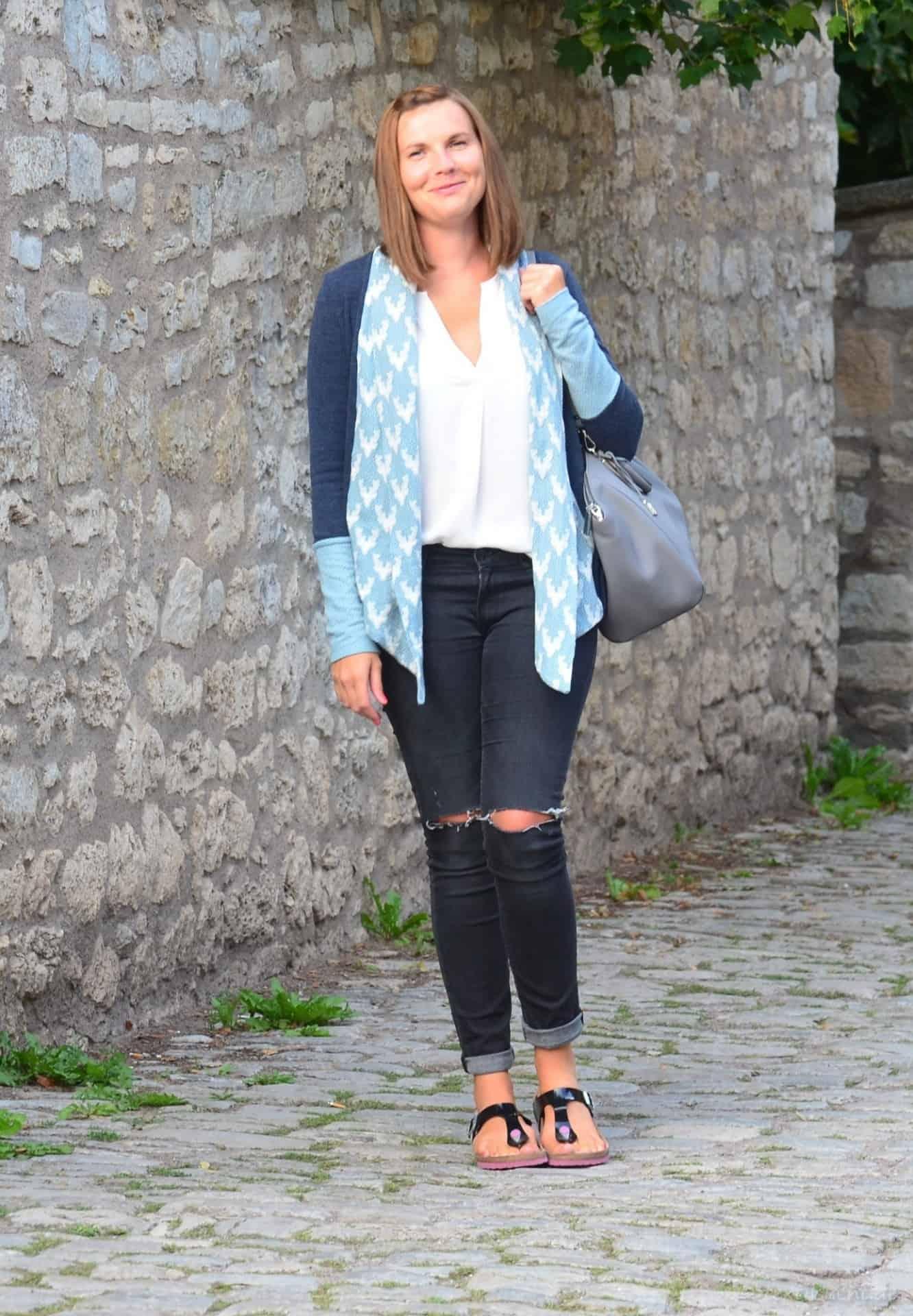 Eine Alegra Strickjacke für kühle Sommerabende - Bild 1 | textilsucht.de