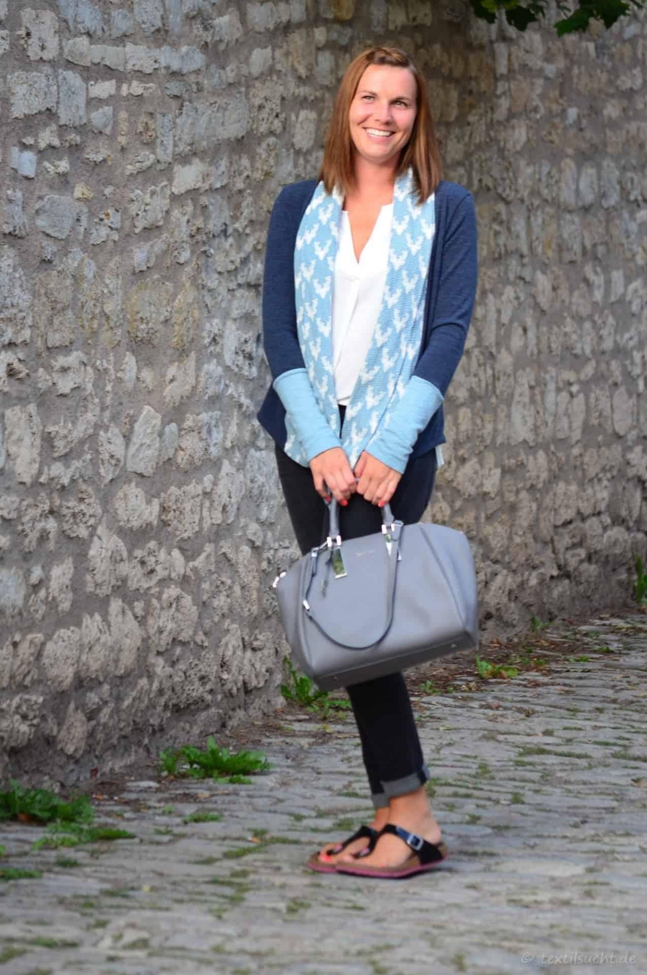 Eine Alegra Strickjacke für kühle Sommerabende - Bild 3 | textilsucht.de