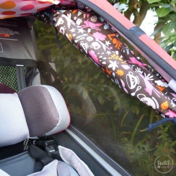 Schnittmuster Sonnenschutz Fahrradanhänger - Bild 6
