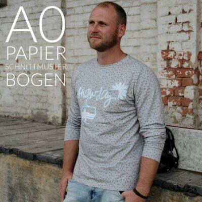 Papierschnittmuster Herrenshirt Rio