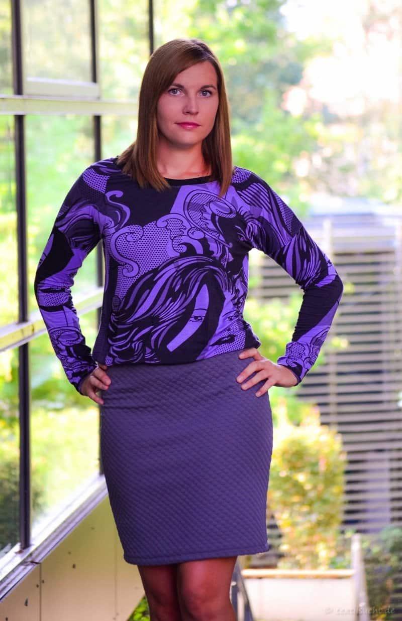 Ein Schnittmuster - drei Varianten: Mein neues Kleid Florenz - Bild 3 | textilsucht.de