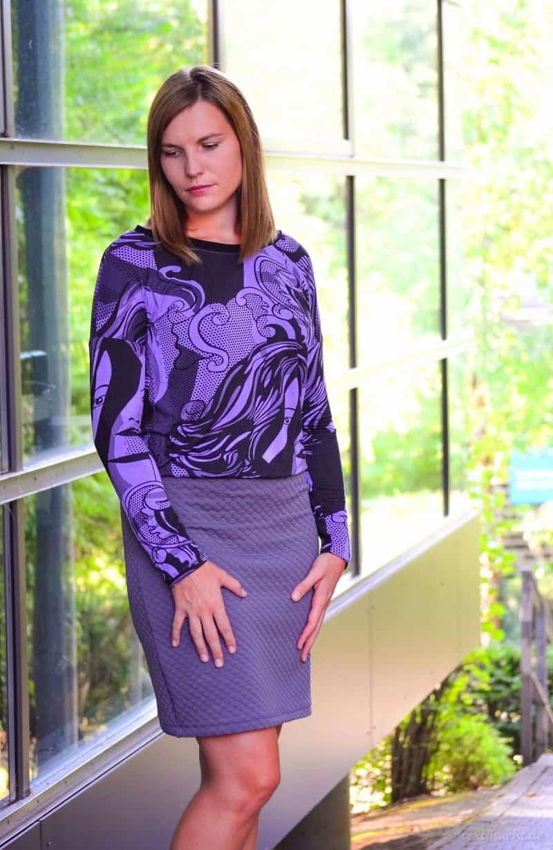 Ein Schnittmuster - drei Varianten: Mein neues Kleid Florenz - Bild 2 | textilsucht.de