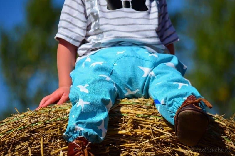 Probenähen Kinderhose Flitze & Piep - Bild 2 | textilsucht.de