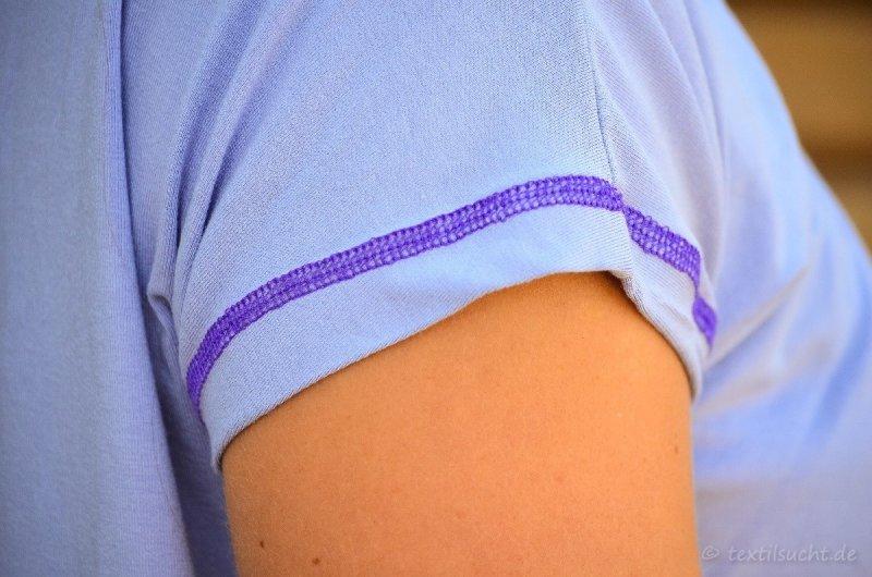 Mein erstes Shirt mit ECHTEN Covernähten - Bild 3 | textilsucht.de