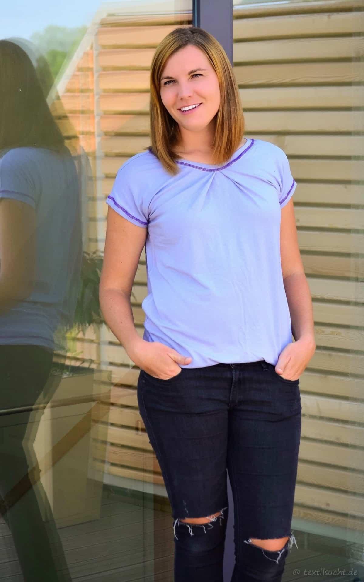 Mein erstes Shirt mit ECHTEN Covernähten - Bild 4 | textilsucht.de