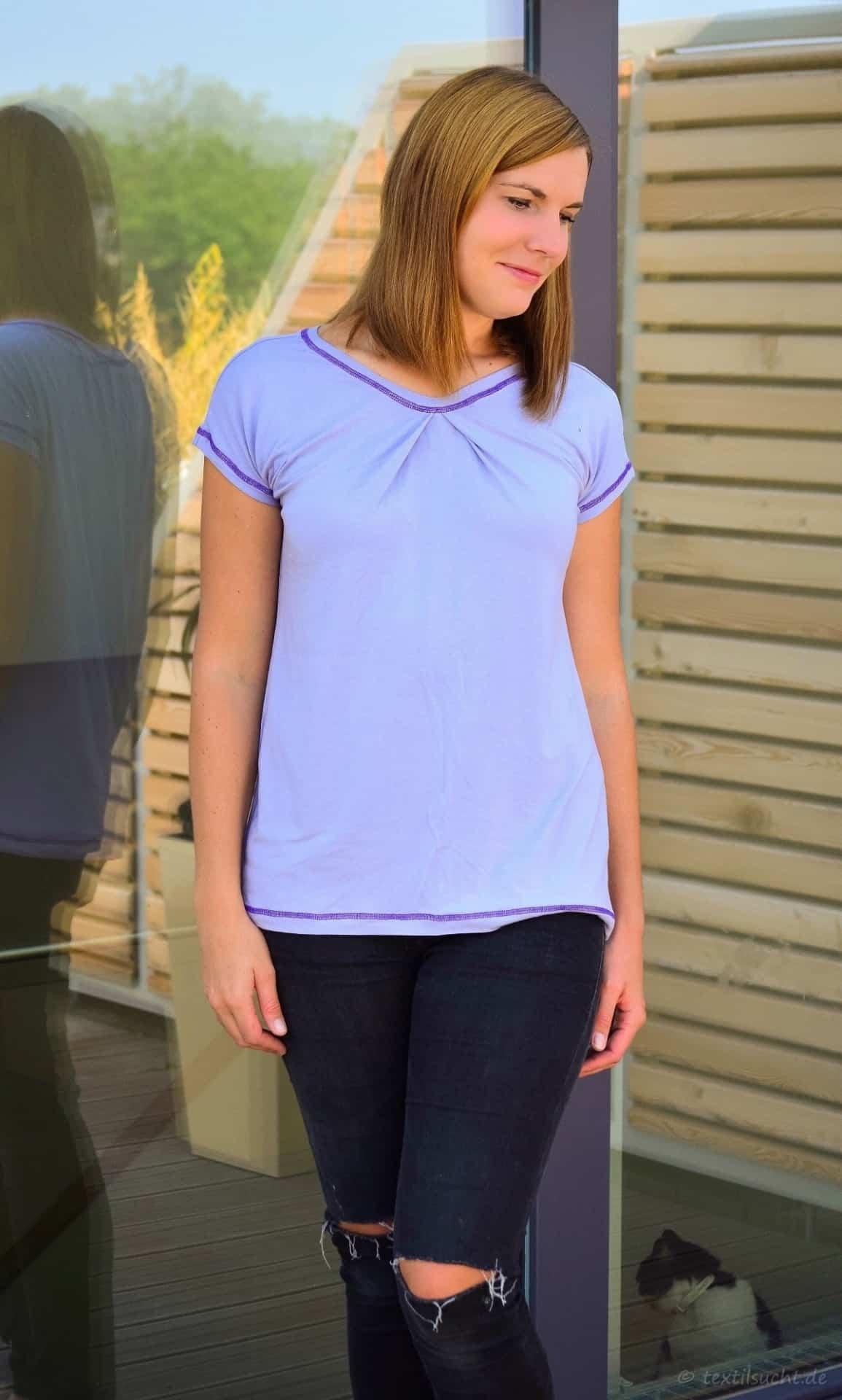 Mein erstes Shirt mit ECHTEN Covernähten - Bild 5 | textilsucht.de