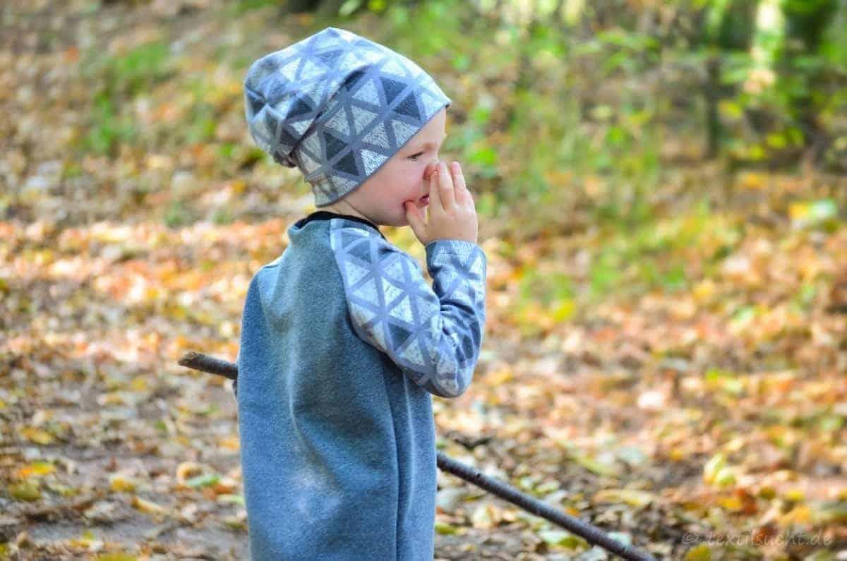 Herbstoutfit für Kinder selber nähen - Titelbild | textilsucht.de
