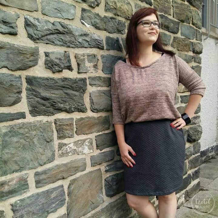 Schnittmuster Kleid Rock und Shirt Florenz – inkl. Nähanleitung