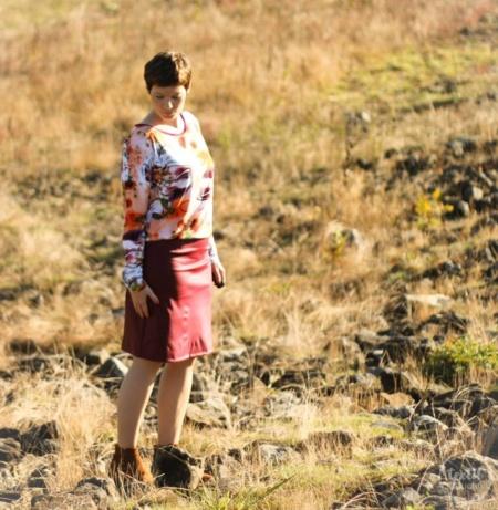 Schnittmuster Kleid Florenz Größe 34-46 - inkl. Nähanleitung - Bild 4