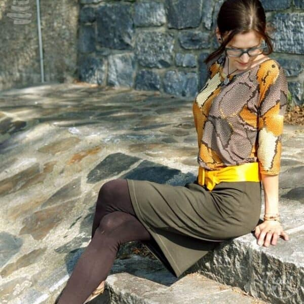 Schnittmuster Kleid Florenz Größe 34-46 - inkl. Nähanleitung - Bild 3