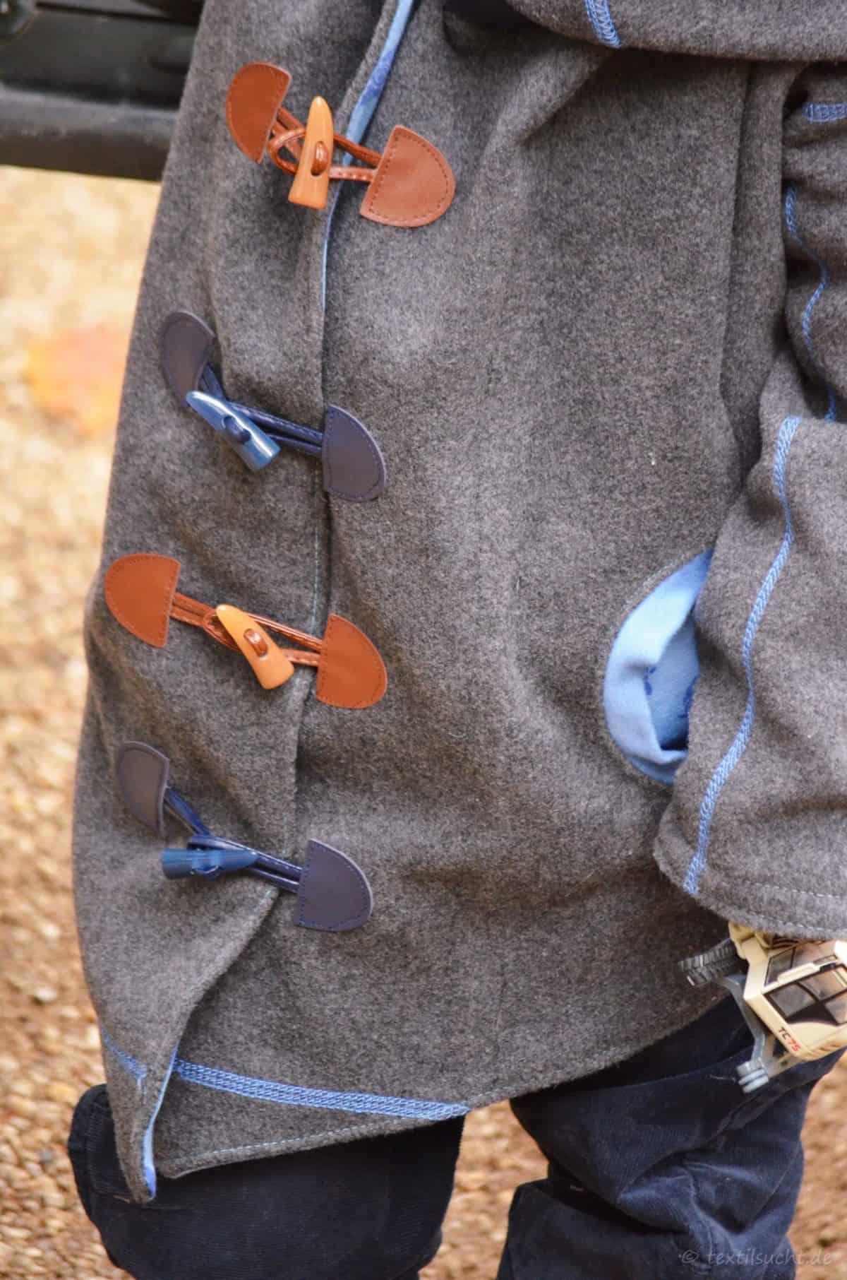 Upcycling Winterjacke für Kinder nähen - Bild 7 | textilsucht.de